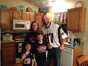Family Super Bowl photo