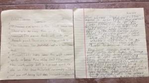 handwriting regression