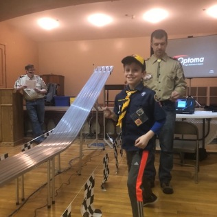 Pinewood Derby-3rd